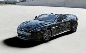 """Vanquish """"rằn ri"""" - """"con lai"""" của Aston Martin và thời trang Valentino"""