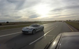 """Xe cơ bắp mạnh nhất thế giới """"hủy diệt"""" Chevrolet Corvette Z06"""