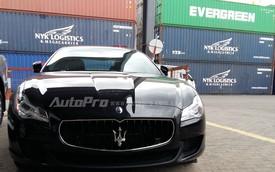 """""""Quý tộc"""" Maserati Quattroporte S Q4 2015 đầu tiên cập bến Việt Nam"""