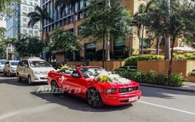 Hàng hiếm Ford Mustang Convertible 2009 làm xe hoa tại Sài Thành