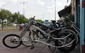 Xe đạp kiểu dáng Chopper lạ mắt giá 20 triệu tại Sài Thành