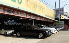 Ngỡ ngàng với Rolls-Royce Phantom được bày bán tại chợ ô tô