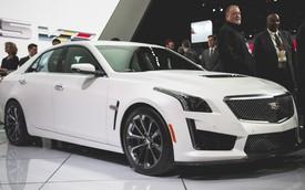 Siêu sedan Cadillac CTS-V chính thức trình làng tại Detroit