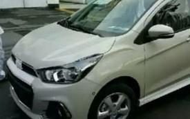 Diện kiến xe giá rẻ Chevrolet Spark mới