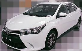 Ảnh thực tế bản nâng cấp Toyota Corolla Altis 2016 dành cho châu Á