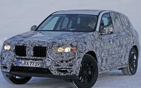 BMW X3 2018 spy shot: lớn hơn nhưng nhẹ hơn