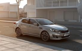 Kia Optima mới mang thiết kế sắc sảo, nội thất cao cấp hơn