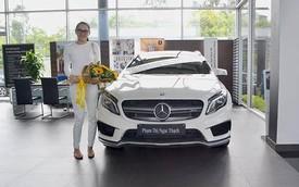 Ngọc Thạch sắm xe sang Mercedes Benz GLA 45 AMG