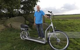 """Xe đạp """"chạy bộ"""" - Lạ, độc và tốt cho sức khỏe"""