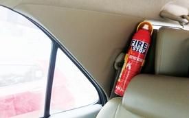Từ 6/1/2016: Trái khoáy quy định ô tô phải có bình chữa cháy
