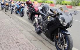 Rước dâu bằng 20 chiếc môtô ở Sài Gòn