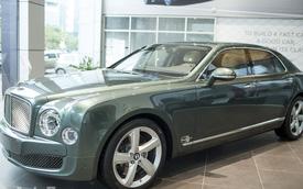 Cận cảnh Bentley Mulsanne Speed nộp thuế 13 tỷ Đồng tại Việt Nam