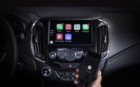 Chevrolet Cruze 2016 sẽ tương thích với cả Android Auto và Apple Carplay