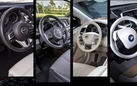 10 không gian nội thất xe hơi đẹp nhất năm 2015