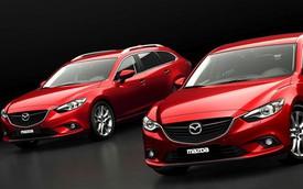 Mazda6 bất ngờ có phiên bản dẫn động 4 bánh
