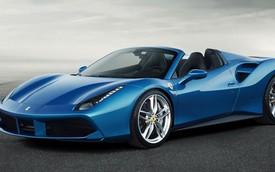 Ferrari chính thức giới thiệu siêu xe mui trần 488 Spider mới