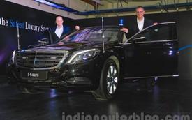 Xe sang bọc thép Mercedes-Benz S600 Guard đời mới có giá 30,5 tỷ Đồng