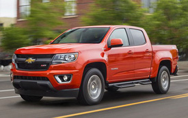 Chevrolet Colorado 2016 có phiên bản tiết kiệm nhiên liệu nhất phân khúc