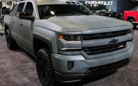 """Xe bán tải Chevrolet Silverado đậm chất lính được """"bật đèn xanh"""""""