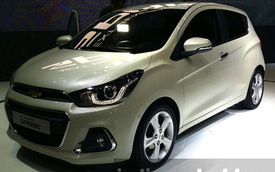 Cận cảnh xe bình dân Chevrolet Spark 2016 có thể sẽ về Việt Nam