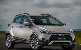 Hyundai HB20X 2016 – Xe crossover lai hatchback giá rẻ