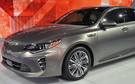 Kia K5 thế hệ mới ra mắt với thiết kế tiến hóa