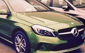 Mercedes-Benz A-Class 2016 bất ngờ lộ diện
