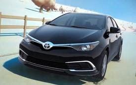 Toyota Corolla phiên bản nâng cấp bất ngờ lộ diện