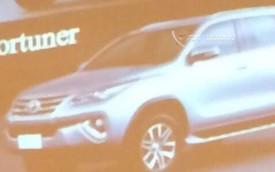 """Lộ ảnh """"toàn thân"""" của hàng hot Toyota Fortuner 2016"""