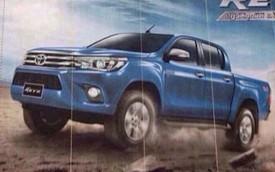 Rò rỉ động cơ chi tiết của xe bán tải Toyota Hilux 2016