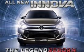 Hình ảnh chính thức từ trong ra ngoài của Toyota Innova thế hệ mới