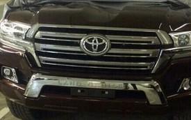 Cặp đôi Toyota Land Cruiser và Lexus LX570 2016 lộ diện rõ nét hơn