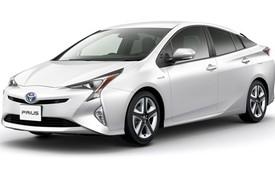 Toyota Prius 2016 tiêu thụ xăng trung bình 2,5 lít/100 km