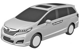 Honda Odyssey 2017 lộ thiết kế, có nét giống Civic