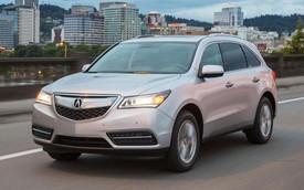 Acura MDX 2016: Công nghệ cao hơn, giá tăng nhẹ