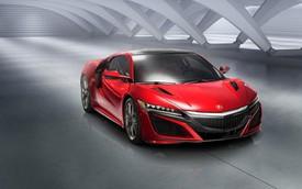 Siêu xe Acura NSX phiên bản sản xuất chính thức trình làng