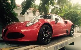 Alfa Romeo 4C phiên bản đặc biệt bất ngờ cập bến Việt Nam