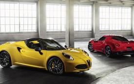 """""""Người đẹp Ý"""" Alfa Romeo 4C Spider chính thức ra mắt"""