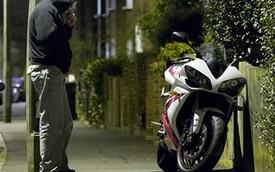 Úc: Phần lớn mô tô đều bị ăn trộm ngay tại nhà