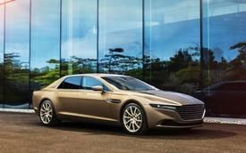 """Choáng với giá """"trên trời"""" của xe nhà giàu Aston Martin Lagonda"""
