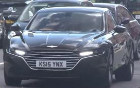 """Lần đầu bắt gặp xe """"giá giật mình"""" Aston Martin Lagonda trên phố"""