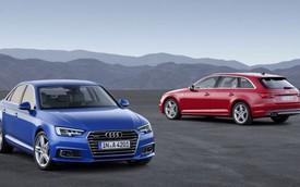 Audi A4 thế hệ mới ra mắt, tiết kiệm xăng như xe ga