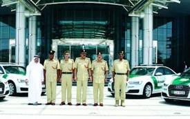 Cảnh sát Dubai sắm thêm một dàn 6 xe sang Audi A6