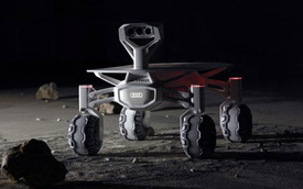 """Audi chế tạo xe chạy trên mặt trăng để ghé thăm """"chị Hằng"""" vào năm 2017"""