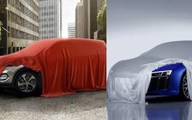 Hyundai Tucson và Audi R8 mới cùng lộ đèn pha