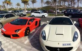 Choáng ngợp với bãi đỗ xe chỉ có thể ở Dubai