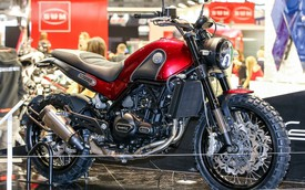 Benelli Leoncino 2016 - Đối thủ của Ducati Scrambler Sixty2