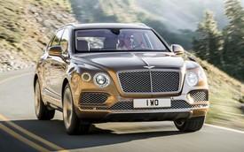 SUV siêu sang Bentley Bentayga chính thức trình làng