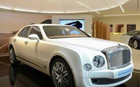 Bentley Mulsanne Majestic mang cảm hứng Hoàng gia