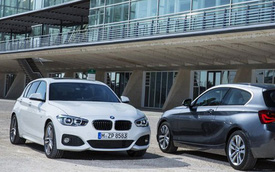BMW 1-Series phiên bản nâng cấp chính thức ra mắt